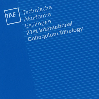 21st International Colloquium Tribology